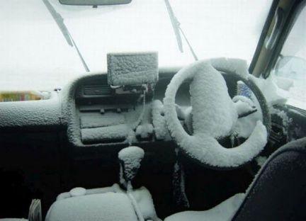 запуск двигателя в холодную погоду