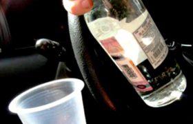 бутылка в машине
