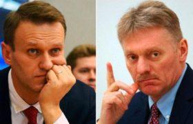 За что Навальный хочет подать в суд на Пескова